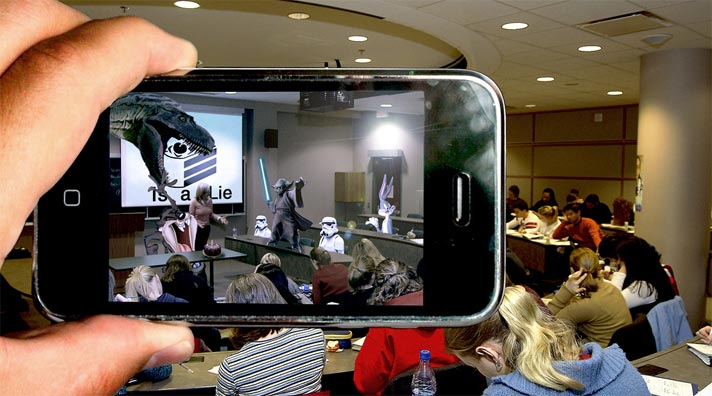 Over 40Augmented Reality Apps for the Classroom