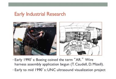 Augmented Reality: Boeing Used AR Building Planes in the 1990s