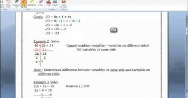 MATH 090 Section 8.6b Simplify Expressions video