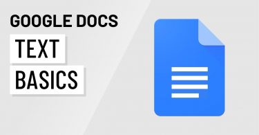 Google Docs: Text Basics Tutorial video watch